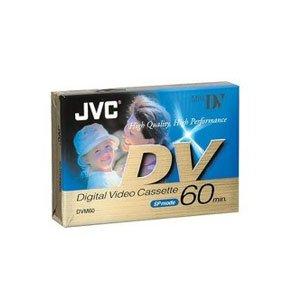 JVC DVM 60 ME  Blank Tapes