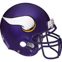 NFL Minnesota Vikings Helmet Wall Accent by Store51
