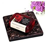 2015 new Rose Soap Handmade Natural Essential Oils Soap Herbal Soap Thailand 110 G,Whitening & Nourishing