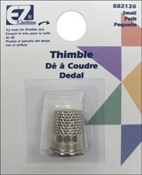 Wrights Brass Plated English Thimble Small 882120; 6 Items/Order
