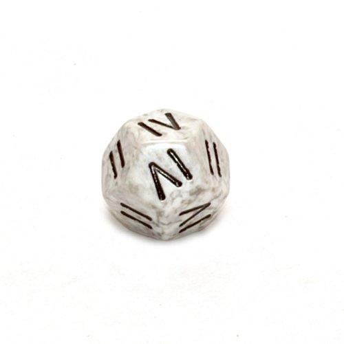 Chessex Speckled Roman D4 Arctic Camo Dice