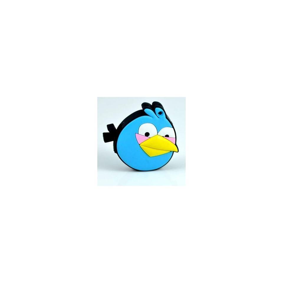 New Angry Bird Style Cartoon USB Flash Drive(Blue)