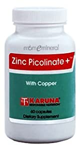 Zinc Picolinate Plus 25mg 60 caps by Karuna