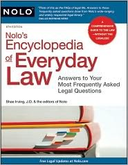 Nolo's Encyclopedia of Everyday Law 8th (egith) edition Text Only