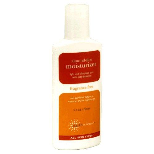 Earth Science Almond-Aloe Facial Moisturizer Fragrance-Free 5 Oz