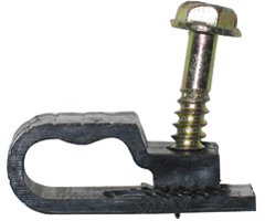 Grip Clip Dual-Cable Clips - Black