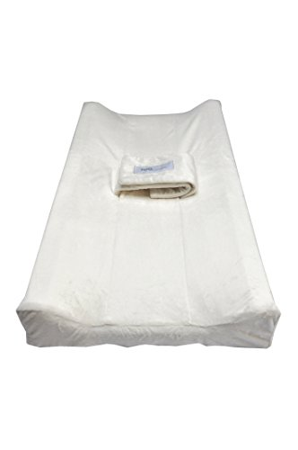 PooPoose Changing Pad Cover (Cloud White)