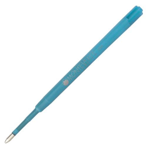 Monteverde Recharge pour stylo à bille à pointe ultra-large tendre pour stylo à bille Parker Turquoise (PR133TQ Lot de 6)