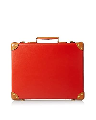 Globe-Trotter 18'' Centenary Air Cabin Case, Red/Tan