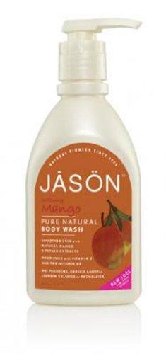Jason Natural Products Satin Shower Body Wash Natural Mango & Papaya 887 ml