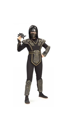 WonderCostumes Boys Dragon Warrior Ninja Child Costume