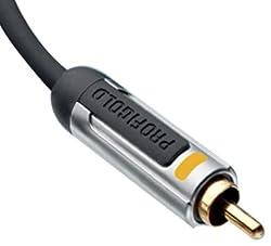 Profigold PROA4802 - 2.0M High Performance Digital Audio Coax Interconnect