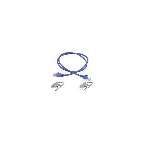 BELKIN cat5e 10ft blue patch cord w/snagless boot A3L791-10-BLU-S
