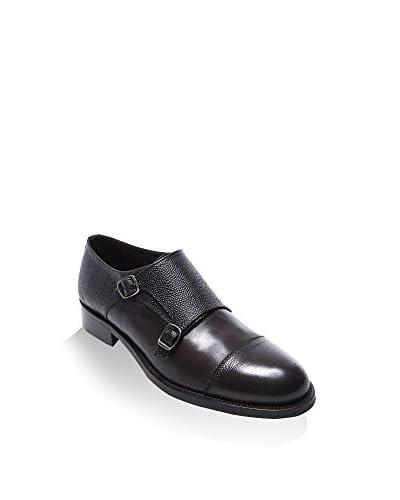 BRITISH PASSPORT Zapatos Monkstrap Toe Cap Pardo