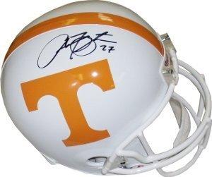 Arian Foster signed Tennessee Volunteers Full Size Replica Riddell Helmet- JSA...