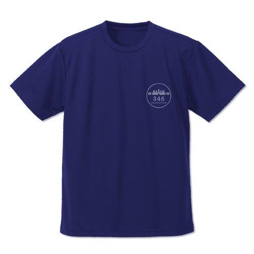 アイドルマスター シンデレラガールズ 346プロ ドライTシャツ ネイビー Mサイズ