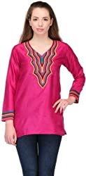 Belle Party Embroidered Women's Kurti