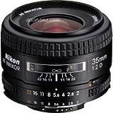 Nikon 35mm f/2D AF Wide-Angle Nikkor Lens for Nikon 35mm and Digital SLR Ca ....