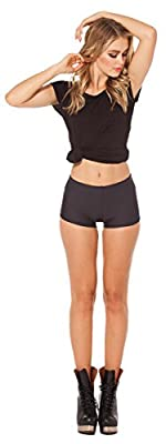 Sharlir Women's Sexy Breathable Workout Active Sports Shorts