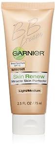 Garnier  Skin Renew Miracle Skin Perfector B.B. Cream, Light and medium, 2.5 Fluid Ounce
