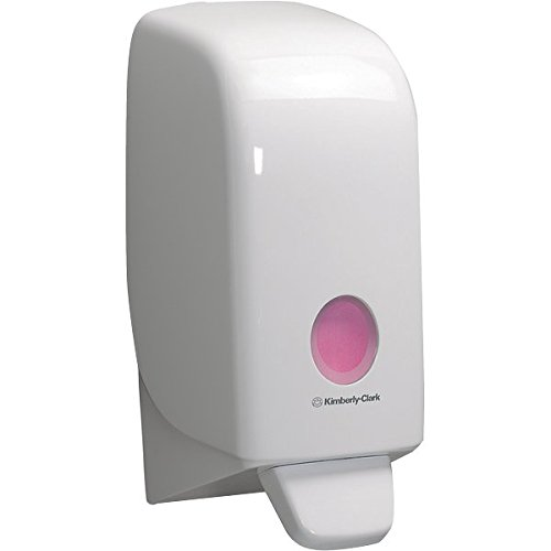 Aquarius 6948 Dispenser di detergente per le mani, cassetta, colore: Bianco