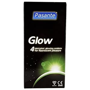 4 Pasante Glow in The Dark Condoms: Amazon.co.uk: Health