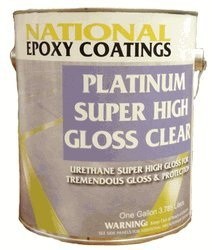 Platinum Non Yellowing Urethane High Gloss Clear Gallon Concrete Paint