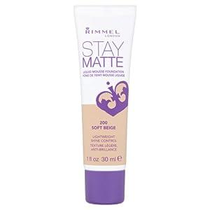 Rimmel Stay Matte Foundation, Soft Beige