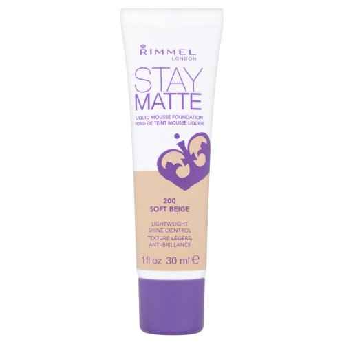 Rimmel Stay Matte, Fondotinta, Soft Beige