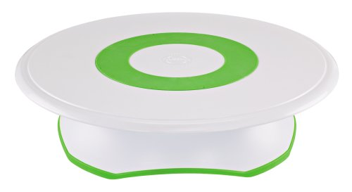Wilton Trim-N-Turn Ultra Rotating Cake Stand at Amazon.com