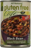 Gluten Free Cafe Black Bean Soup -- 15 oz