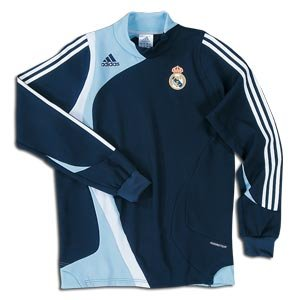 adidas Real Madrid Long Sleeve Training Top