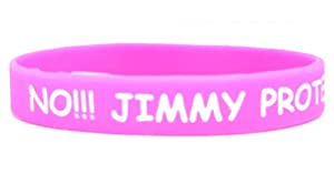 No Jimmy Protested One Direction Wristband from DirectionPlanet