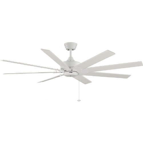 Fanimation Levon 63 Inch Indoor Ceiling Fan - Matte White