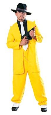 Deluxe Yellow Zuit Suit Mens Halloween Costume