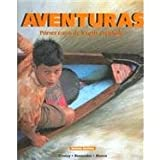 Adventuras: Primer Curso de Lengua Espanola (Spanish Edition) (1600070116) by Donley, Philip Redwine