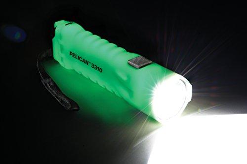 Pelican 033100-0100-247 234-Lumen 3310PL Progear Waterproof LED Photo Luminescent Flashlight