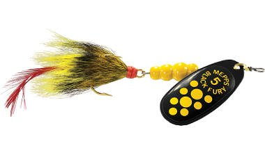 Today Sale Mepps Dressed Black Fury Lures  Best Offer
