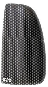 GT Styling GT4259X Carbon Fiber Blackouts Taillight Cover (99 Mercury Cougar Headlight Cover compare prices)