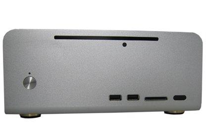 Wesena Mini ITX7 (Silver) 100% Aluminium HTPC Case