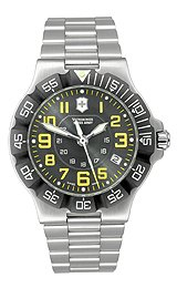 Victorinox Swiss Army Summit XLT Bracelet Grey Dial Men's Watch #241413