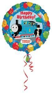 Thomas and Friends Happy Birthday Balloon Party Decoration - 1