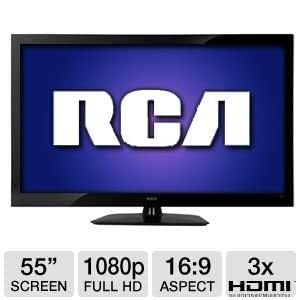 "RCA 55LA55R120Q 55"" 1080p 120Hz LCD HDTV Refurb"