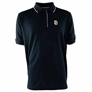 San Diego Padres Elite Polo Shirt (Team Color) by Antigua