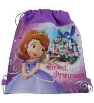 Sofia The First Non Woven Sling Bag [6 Retail Unit(s) Pack] - SOFLNG - 1
