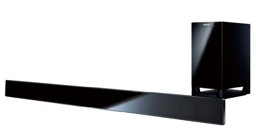 Panasonic SC-HTB520EB-K 240W Sound Bar with Wireless Downfiring Subwoofer (2 Piece Set)