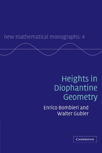 Heights in Diophantine Geometry Paperback (New Mathematical Monographs)