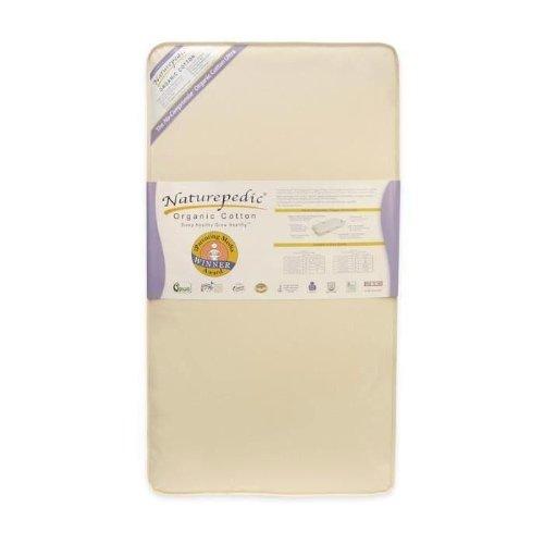 Naturepedic No-compromise Organic Crib Mattresses 150 coil w/ traditional binding 27.5