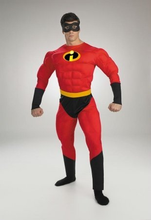Costumes For All Occasions Dg5368 Mr Incredible Muscle Adult