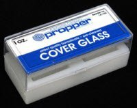 Pt# -30529 Pt# # 30529- Coverslip Micro Slide Glass 1Oz 22X50Mm Pt# # 1.5 Ea By, Propper Mfg Co